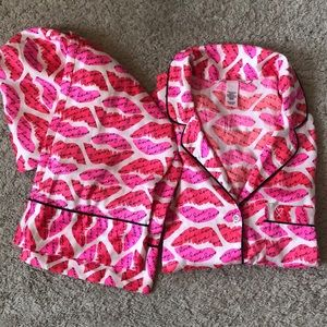 Victoria's Secret Silky Pajama Set
